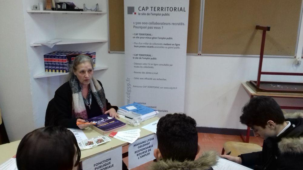 47d5acaa1ec Forum des métiers 2018 - COLLEGE DU MOULIN   GRANDE-SYNTHE